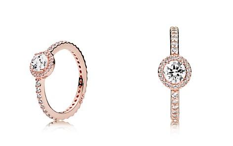 PANDORA Ring - Sterling Silver & Cubic Zirconia Rose Classic Elegance - Bloomingdale's_2