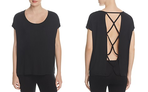 Beyond Yoga Strappy Open Back Top - Bloomingdale's_2