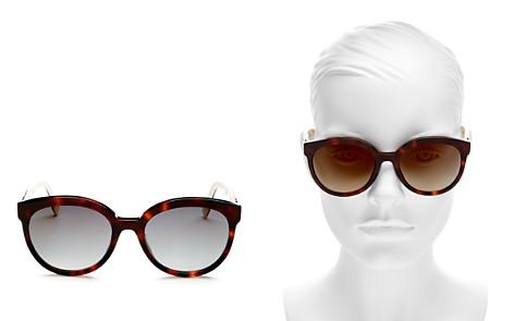 Fendi Women's Mirrored Round Sunglasses, 56mm - Bloomingdale's_2