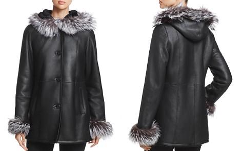 Maximilian Furs Saga Fox Fur-Hood Lamb Leather Jacket - 100% Exclusive - Bloomingdale's_2