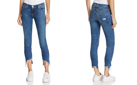 Hudson Mid-Rise Skinny Jeans in Split Second - Bloomingdale's_2