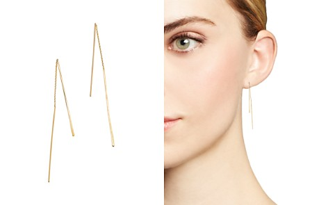Zoë Chicco 14K Yellow Gold Wire Threader Earrings - Bloomingdale's_2