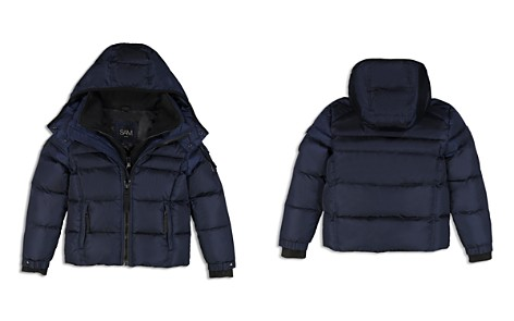 SAM. Boys' Matte Racer Puffer Jacket - Big Kid - Bloomingdale's_2