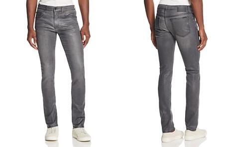 Joe's Jeans Doyle Slim Fit Jeans in Coated Grey - Bloomingdale's_2