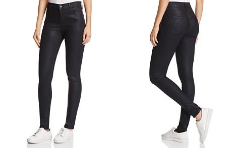 J Brand Maria High-Rise Skinny Jeans in Cristalline - Bloomingdale's_2