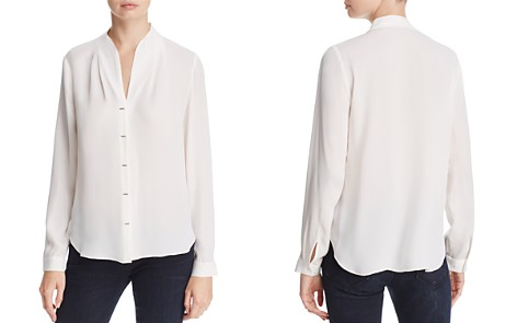Elie Tahari Bea Bar Silk Blouse - Bloomingdale's_2