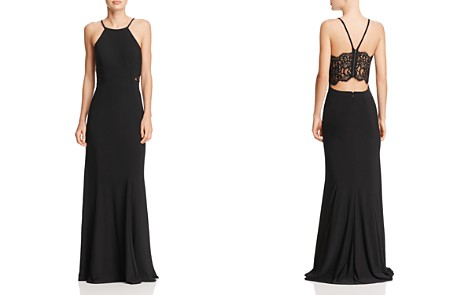 Avery G Lace Cutout-Back Gown - Bloomingdale's_2