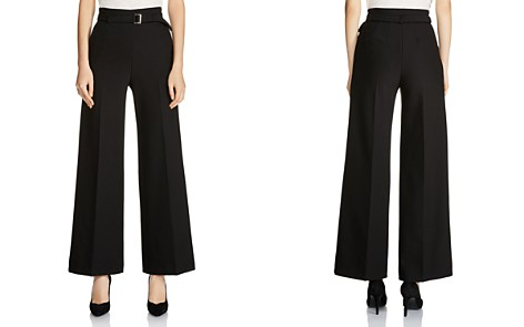 Maje Parc Cropped Flared Pants - Bloomingdale's_2