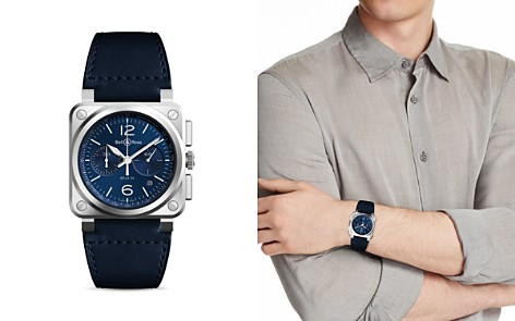 Bell & Ross BR 03-94 Blue Steel Chronograph, 42mm - Bloomingdale's_2