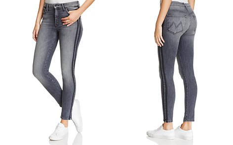 MOTHER High-Rise Looker Jeans in Miss Moody Two Shoes Racer - Bloomingdale's_2