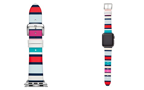 kate spade new york Apple Leather Watch Strap, 25mm - Bloomingdale's_2