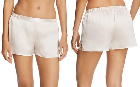 GINIA Silk Shorts - Bloomingdale's_2