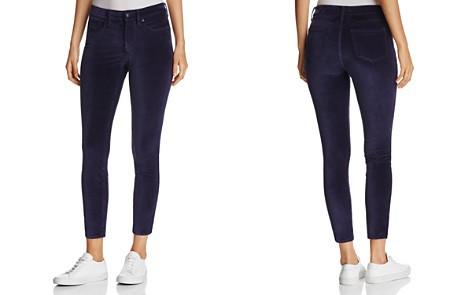NYDJ Petites Ami Velvet Skinny Legging Jeans in Navy - 100% Exclusive - Bloomingdale's_2