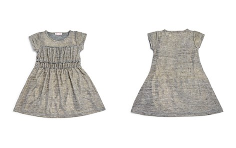 Design History Girls' Metallic Shirt Dress - Little Kid - Bloomingdale's_2
