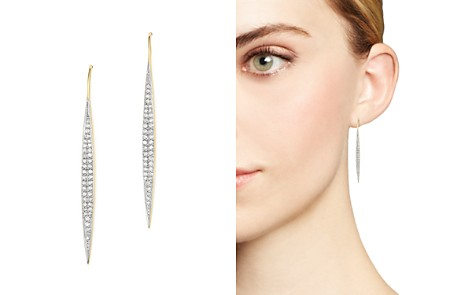 Adina Reyter 14K Yellow Gold Marquise Drop Pavé Diamond Earrings - Bloomingdale's_2