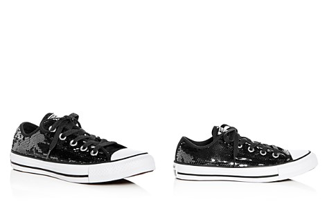 Converse Women's Chuck Taylor All Star Sequin Lace Up Sneakers - Bloomingdale's_2