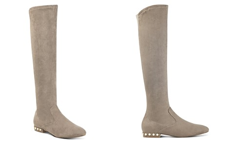 IVANKA TRUMP Freeda Embellished Faux Suede Tall Boots - Bloomingdale's_2