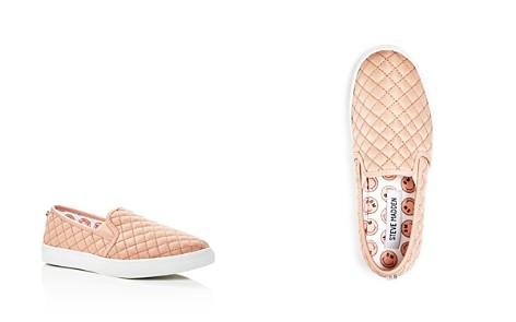 STEVE MADDEN Girls' Quilted Slip-On Sneakers - Little Kid, Big Kid - Bloomingdale's_2