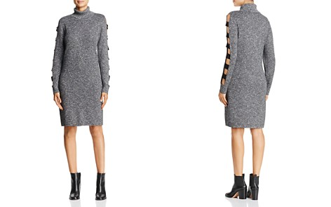 Love Scarlett Ladder Cutout Sleeve Sweater Dress - Bloomingdale's_2