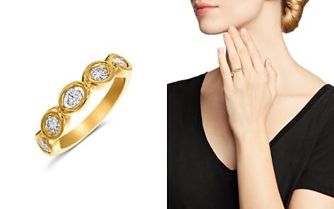 Gumuchian 18K Yellow Gold Diamond Oasis 5 Stone Band - Bloomingdale's_2