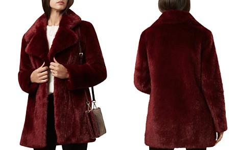 HOBBS LONDON Bethany Faux-Fur Coat - Bloomingdale's_2