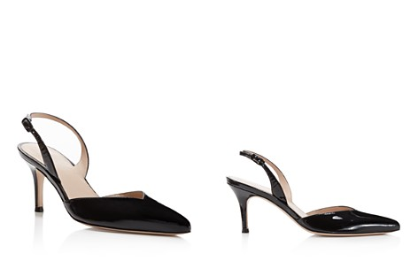 Stuart Weitzman Women's Sleek Patent Leather Slingback Pumps - Bloomingdale's_2