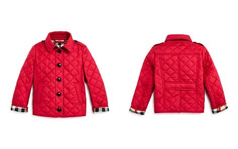 Burberry Girls' Diamond Quilted Jacket - Little Kid, Big Kid - Bloomingdale's_2
