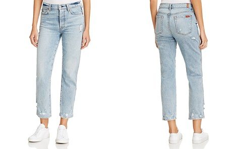 7 For All Mankind Edie Straight Jeans in Mineral Desert Springs - Bloomingdale's_2