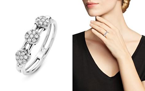 Hulchi Belluni 18K White Gold Tresore Diamond Ring - Bloomingdale's_2