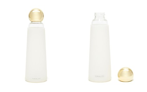 ban.do Deluxe Cool It Glass Water Bottle, White/Gold - Bloomingdale's_2