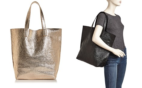 Street Level Glossy North/South Tote - Bloomingdale's_2