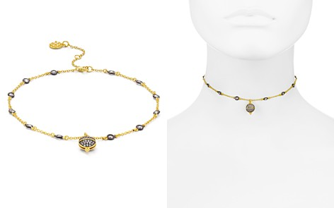 "Freida Rothman Ornamental Choker Necklace, 11.5"" - Bloomingdale's_2"