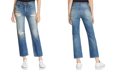 rag & bone/JEAN Ankle Straight Jeans in Erv's - Bloomingdale's_2