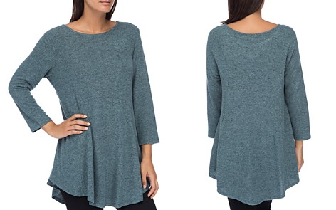 B Collection by Bobeau Brushed Tunic Top - Bloomingdale's_2