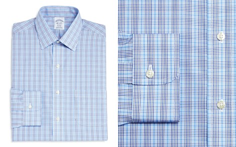 Brooks Brothers Double Check Classic Fit Dress Shirt - Bloomingdale's_2