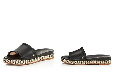 kate spade new york Women's Zahara Leather Slide Sandals - Bloomingdale's_2