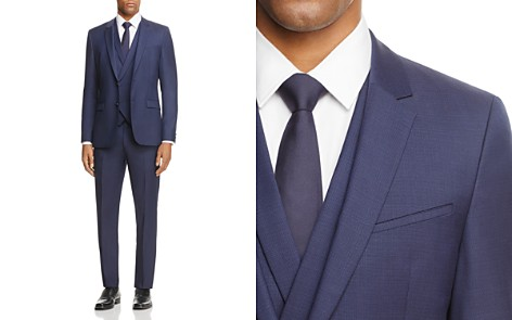 HUGO Tonal Solid Regular Fit 3-Piece Suit - Bloomingdale's_2