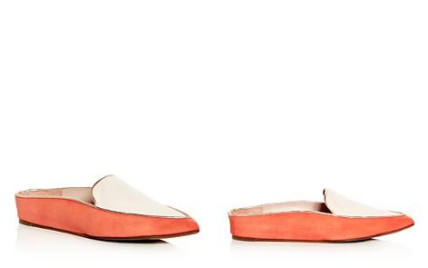Taryn Rose Women's Renatta Suede Hidden Wedge Pointed Toe Mules - Bloomingdale's_2