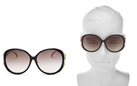 Gucci Oversized Round Sunglasses, 60mm - Bloomingdale's_2