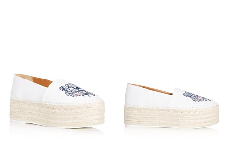 Kenzo Women's Tiger Embroidered Platform Espadrille Flats - Bloomingdale's_2