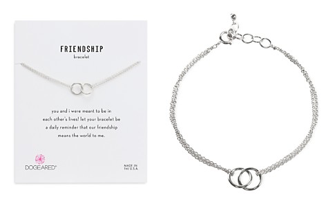 Dogeared Double Link Rings Bracelet - Bloomingdale's_2