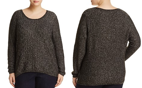 NYDJ Plus Sequin-Embellished Sweater - Bloomingdale's_2