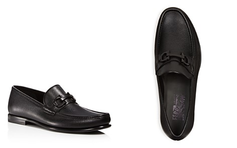 Salvatore Ferragamo Men's Crown Gancini Bit Loafers - Bloomingdale's_2