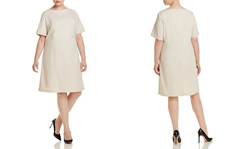 Lafayette 148 New York Plus Emanuelle A-Line Dress - Bloomingdale's_2
