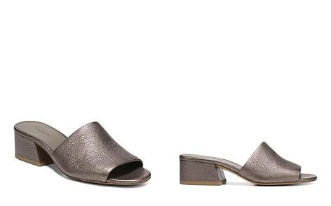 Vince Women's Karissa Leather Slide Sandals - Bloomingdale's_2