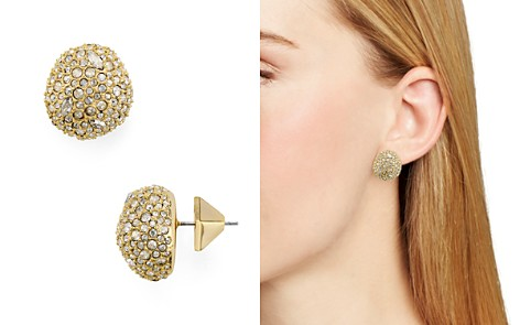 Alexis Bittar Pavé Button Earrings - Bloomingdale's_2