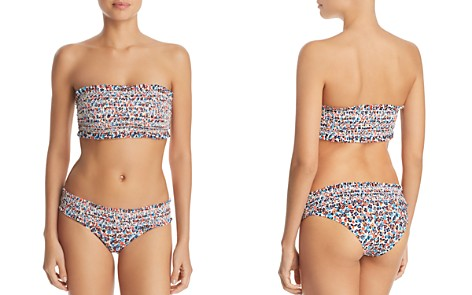 Tory Burch Costa Bandeau Bikini Top & Costa Hipster Bikini Bottom - Bloomingdale's_2