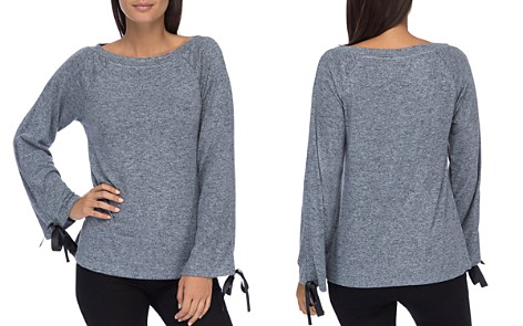 B Collection by Bobeau Jess Tie Sleeve Top - Bloomingdale's_2
