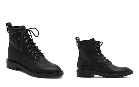 Dolce Vita Women's Bardot Leather Combat Booties - Bloomingdale's_2