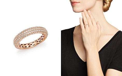 Bloomingdale's Diamond Micro Pavé Band in 14K Rose Gold, 1.0 ct. t.w., 100% Exclusive _2